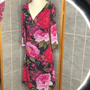 Weston Wear Floral Mesh Dress